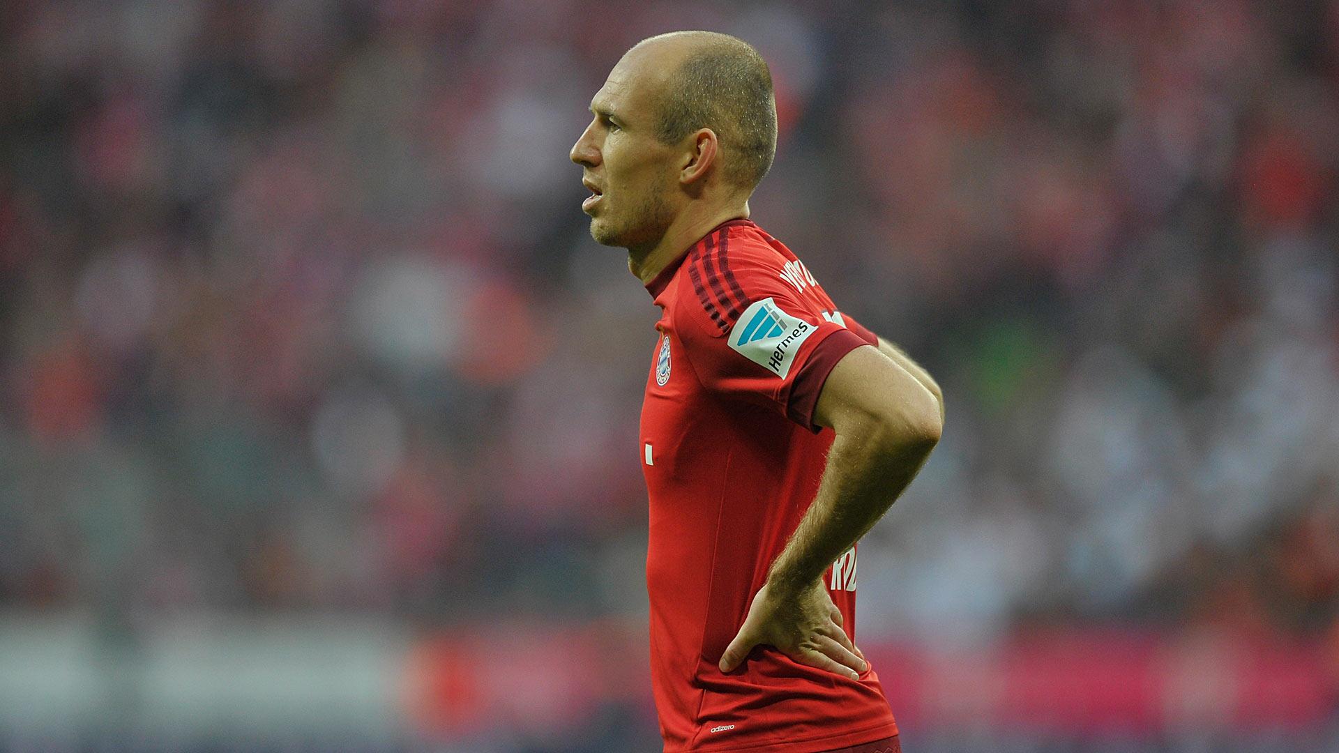 """Robben detona: """"2015 tem sido uma m... para mim"""""""