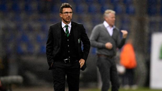 Eusebio Di Francesco Genk Sassuolo Europa League