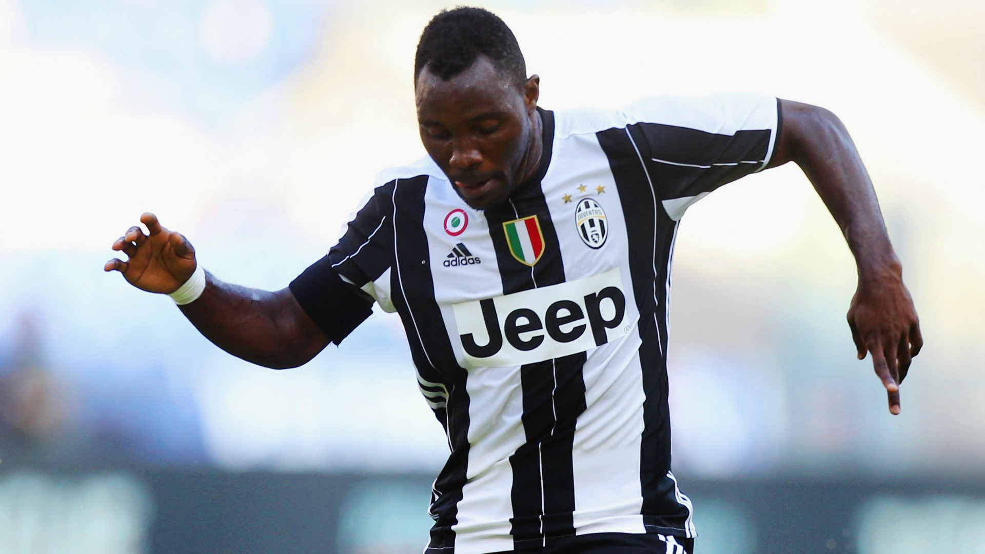 Injury rules out Asamoah for six weeks