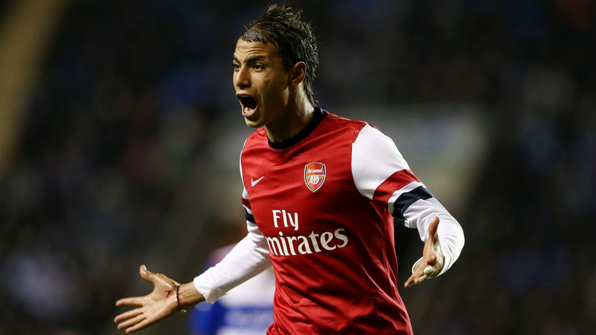 Marouane Chamakh Arsenal Premier League