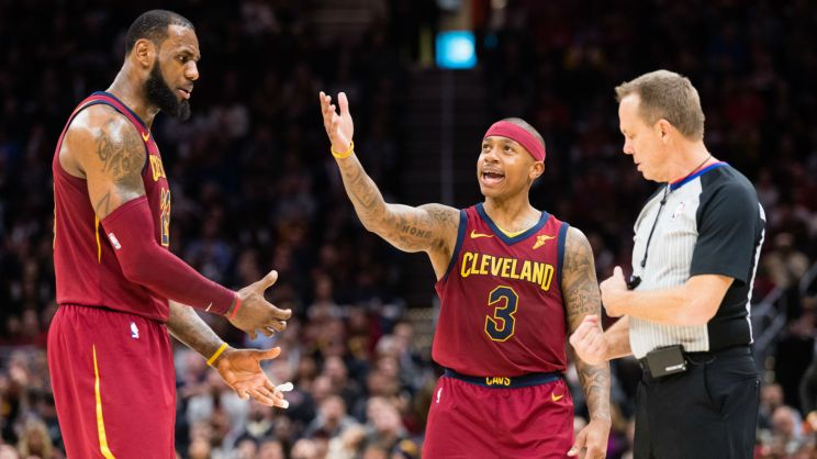 Image result for Isaiah Thomas defense cavs