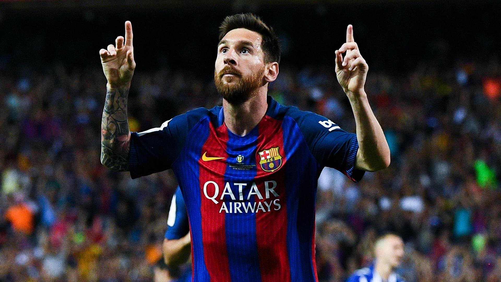 Lionel Messi Barcelona Deportivo Alaves Copa del Rey 27052017