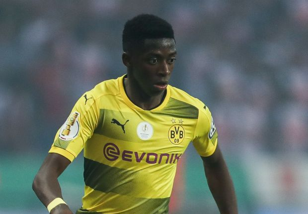 'No negotiations with Barcelona for Dembele' - Dortmund adamant winger is going nowhere
