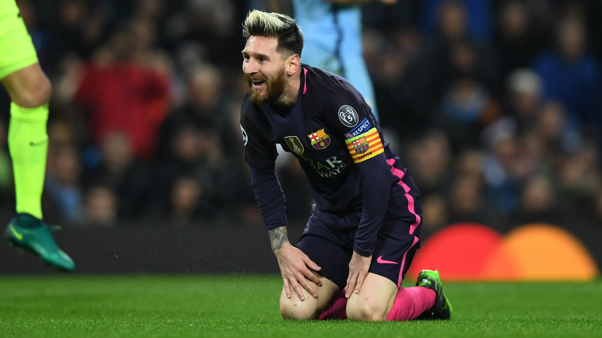 'Messi was in no mood to talk' - Aguero responds to tunnel fight reports