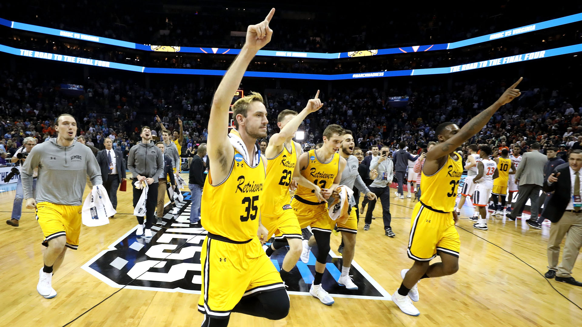 Image result for #16 beats #1 NCAA