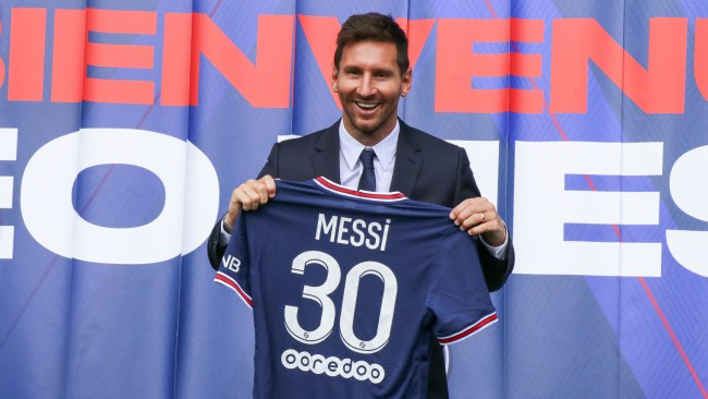 Lionel Messi is chasing Champions League glory with Paris Saint-Germain this season