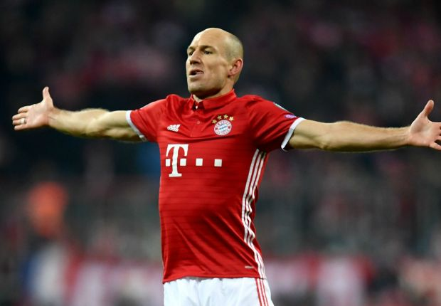 Outdoing Cruyff keeps me going - Robben