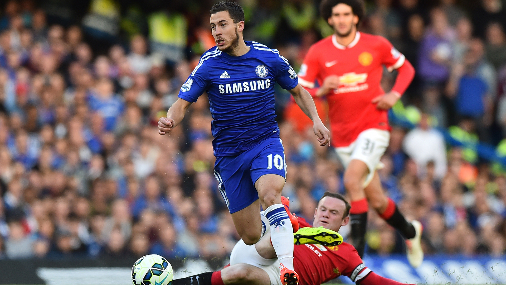 Hazard is up there with Ronaldo and Messi, claims Mourinho