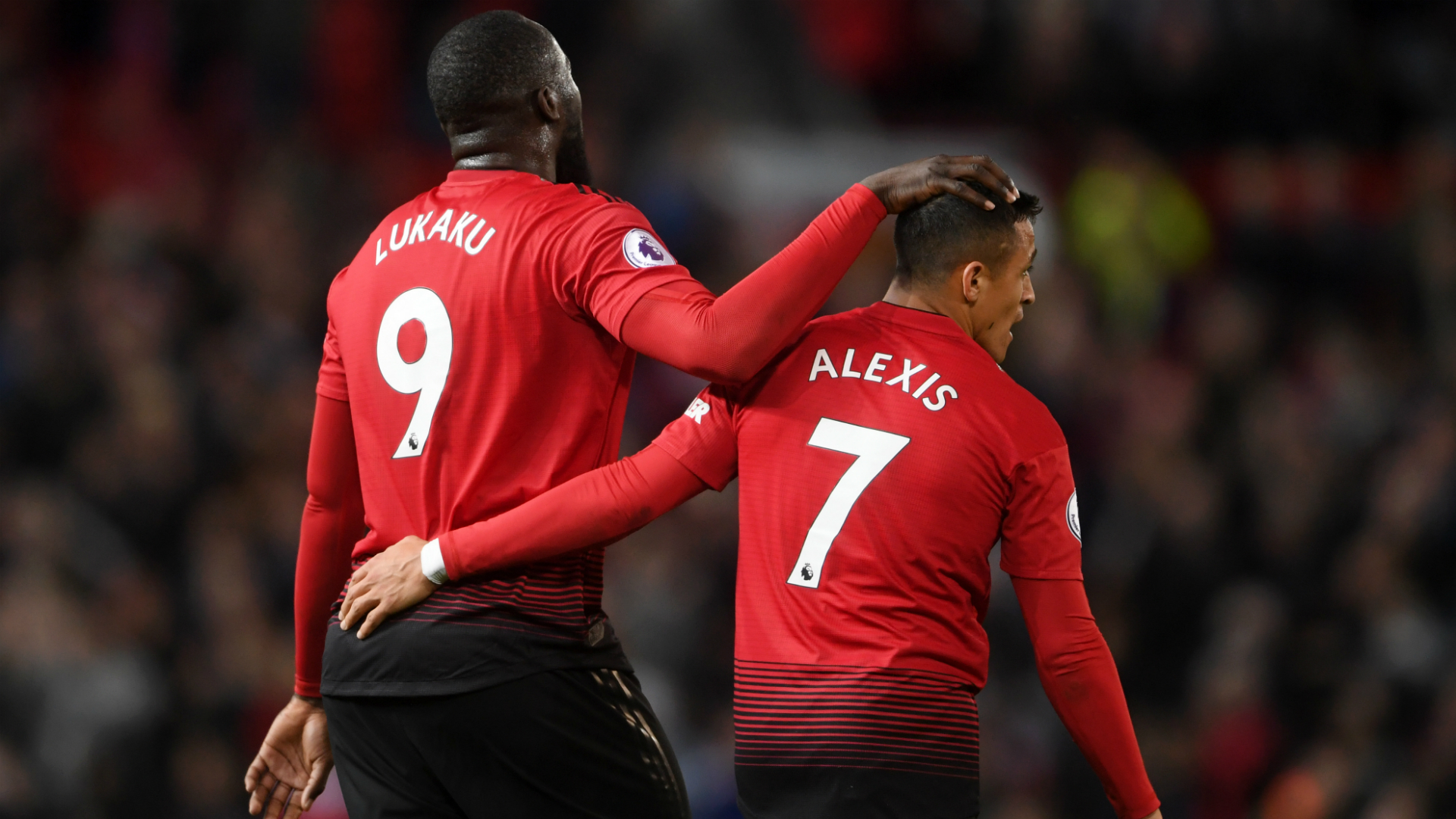 Image result for alexis sanchez and lukaku 2019