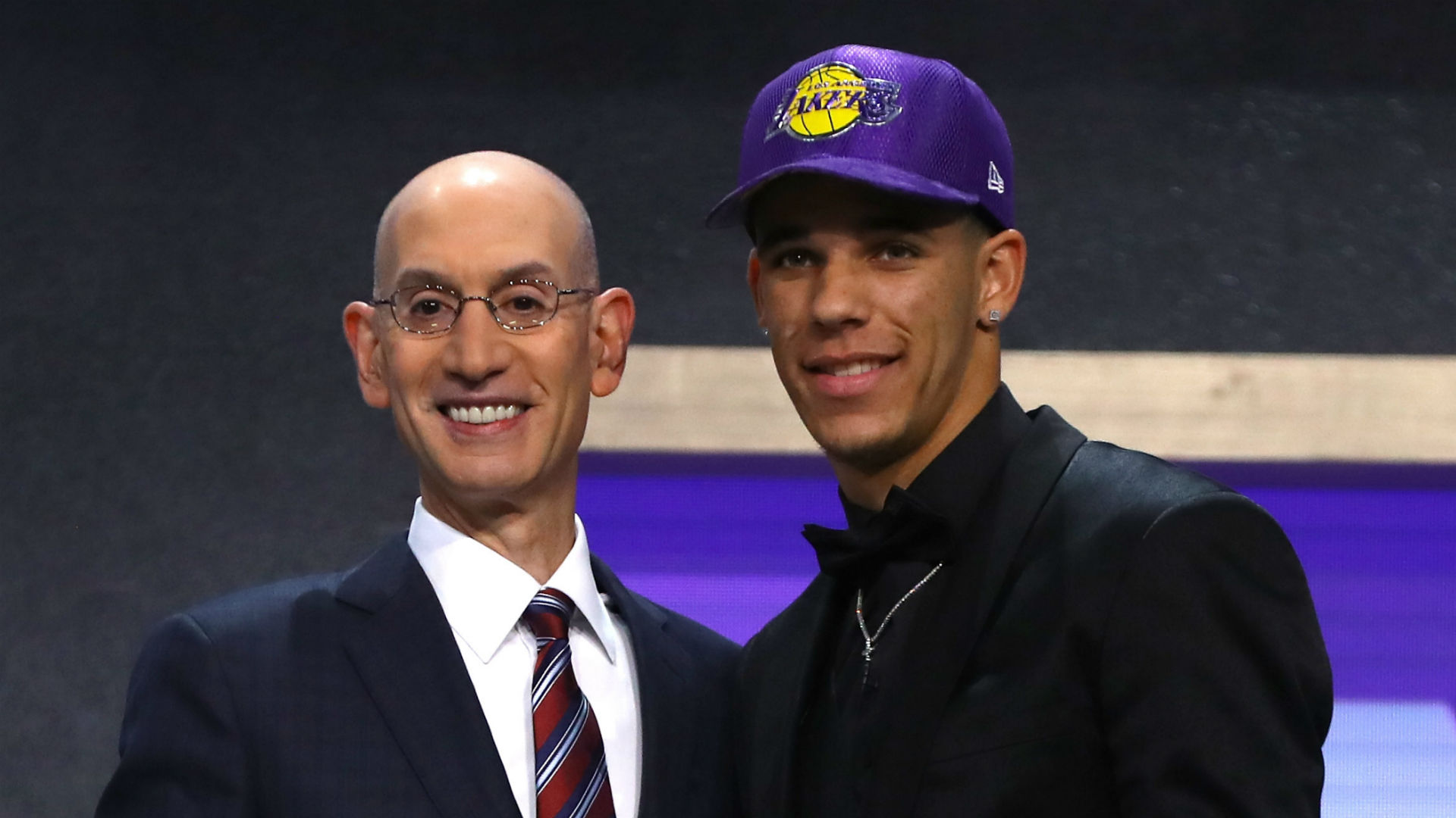 Image result for lonzo draft