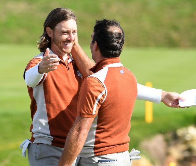 Ryder Cup  Tommy Fleetwood Loving Francesco Molinari Partnership