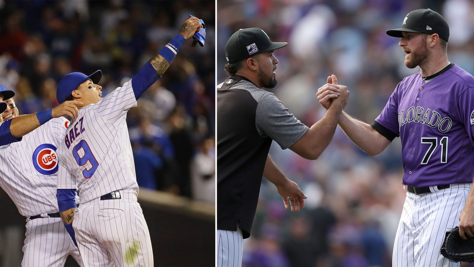 Cubs and Rockies