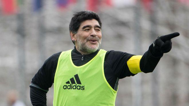 Sarri wants Maradona to give Napoli team talk before Madrid clash