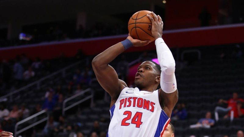 Pistons waiving Joe Johnson, report says