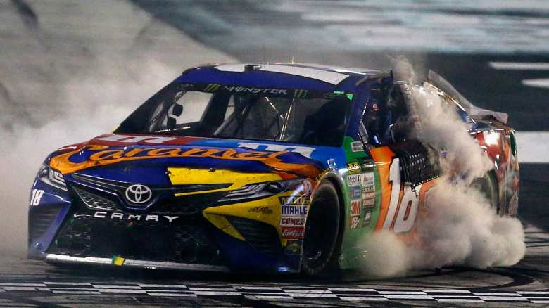 NASCAR results at Dover: Kyle Busch spoils Chase Elliott's shot at first win | NASCAR | Sporting ...