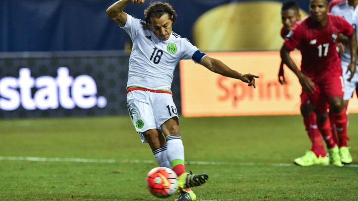 Andrés Guardado con la maglia del Messico | Numerosette Magazine