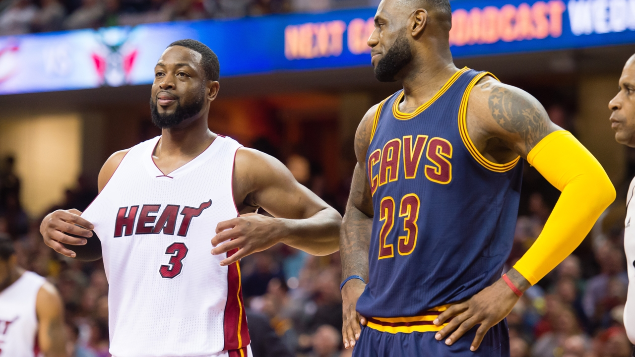 Image result for Wade Reflects On Relationship With LeBron