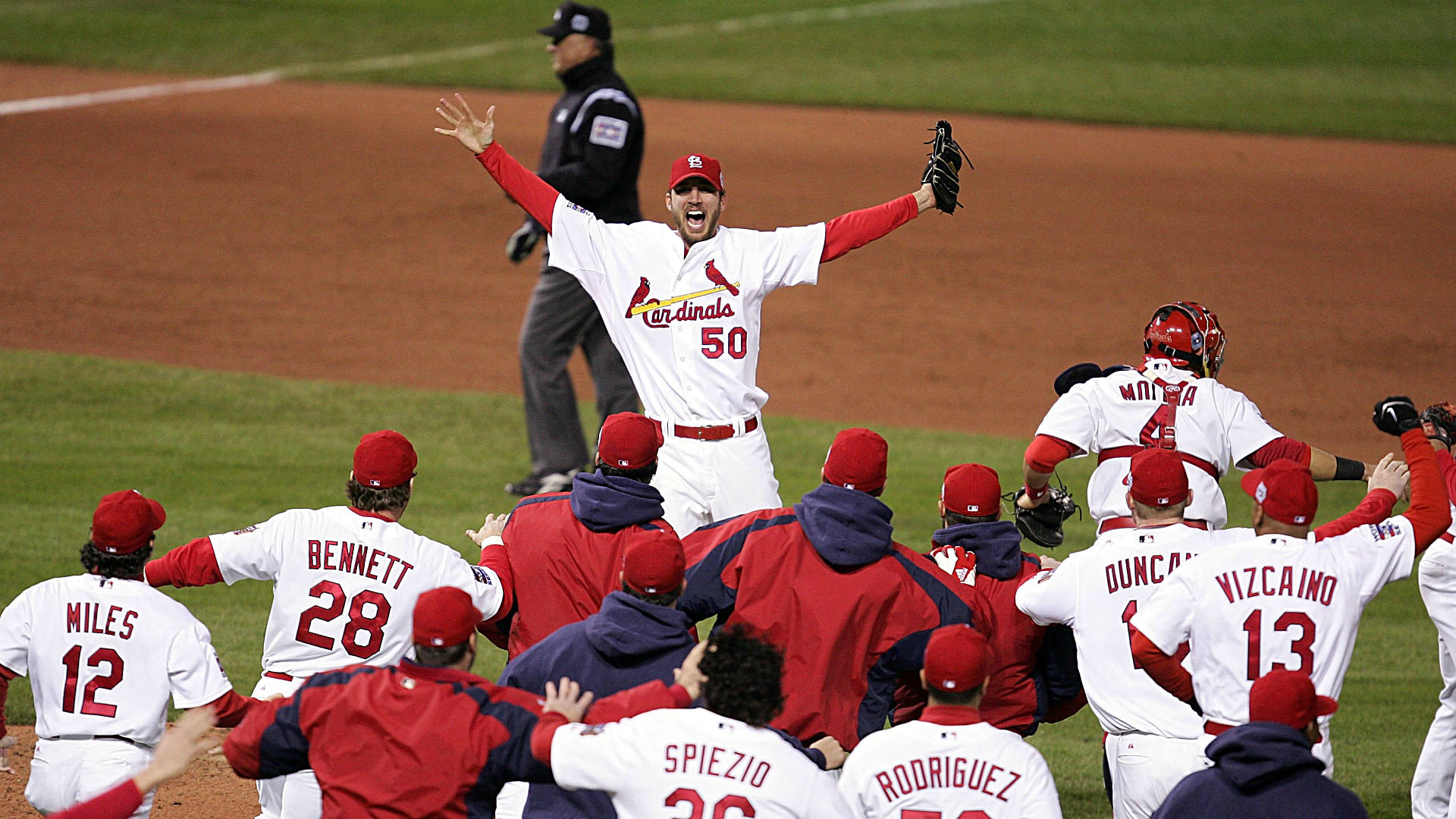 Image result for 2006 cardinals win world series