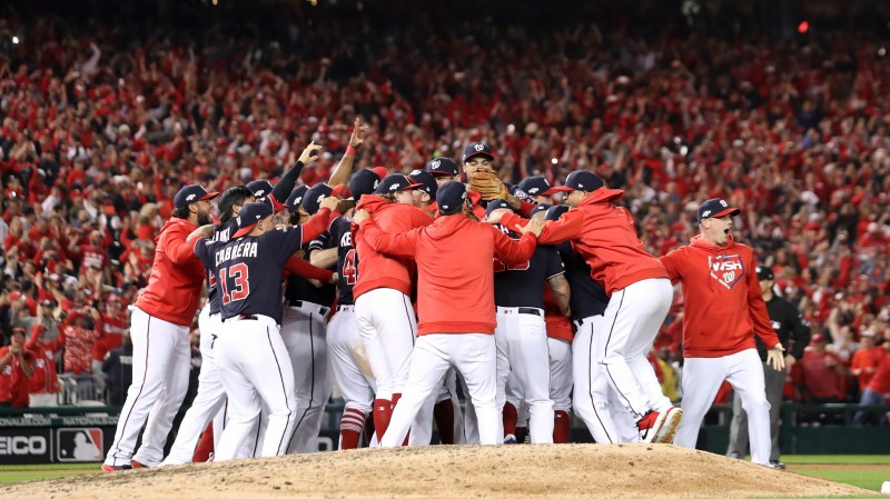 Nationals surge through playoffs to emerge as new rulers of National League