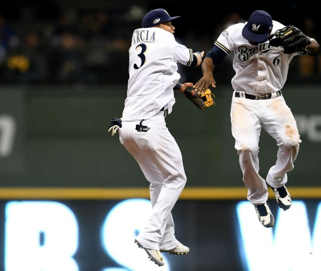 Dodgers Vs Brewers Results Milwaukee Scores Early Often To Force Game  Vs Dodgers