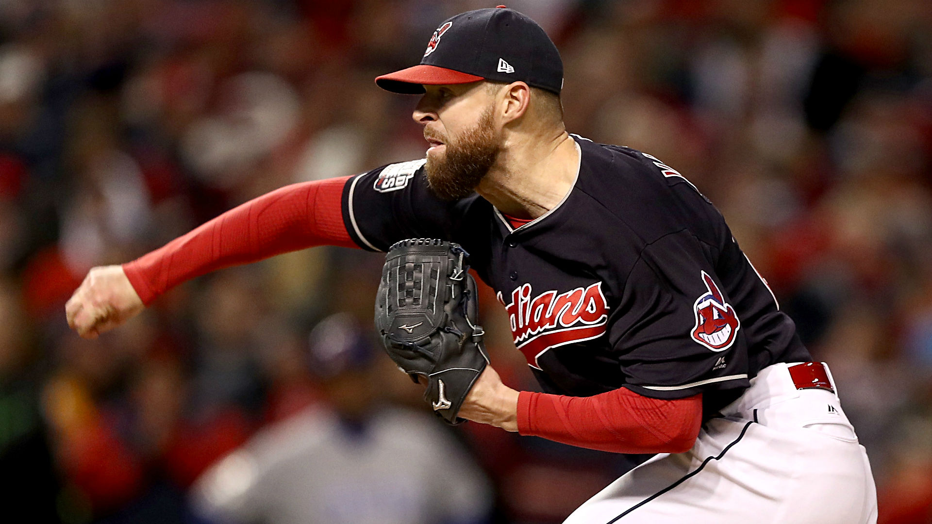 Image result for 2016 world series game 1 corey kluber