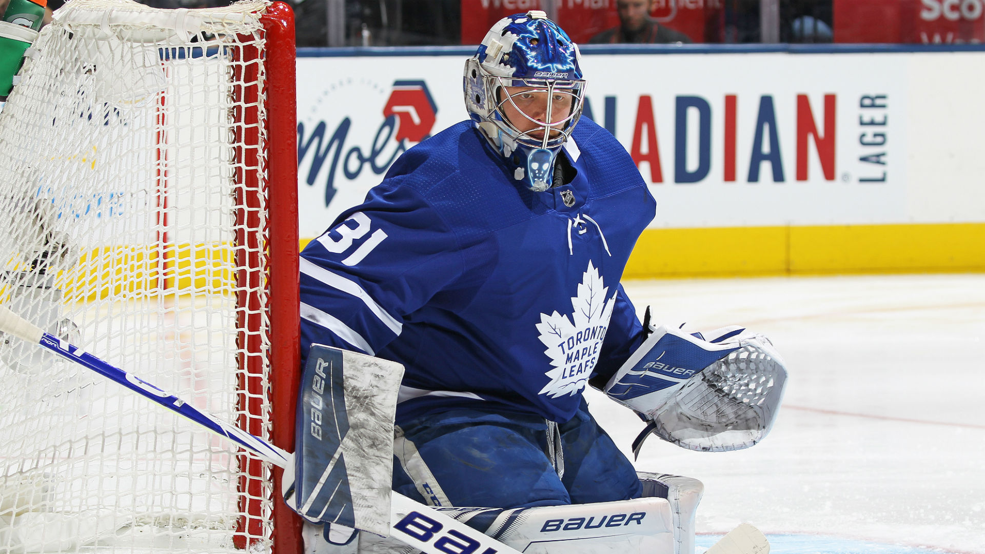 Frederik Andersen injury replace: Toronto Maple Leafs goalie won't start vs. Arizona