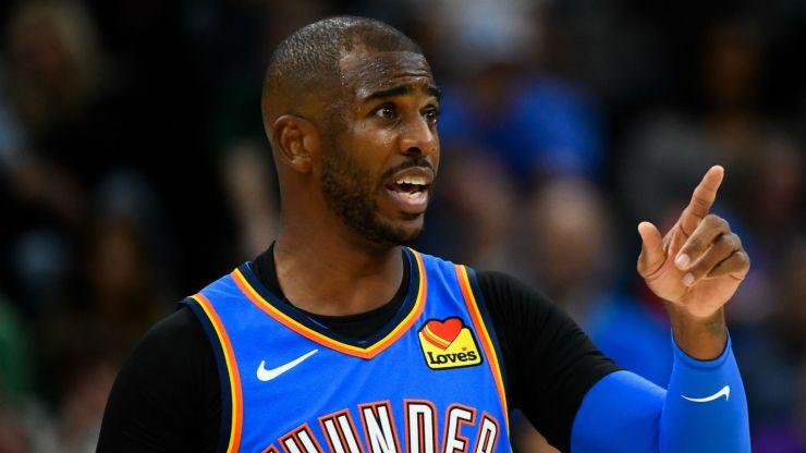El conocimiento de Chris Paul de la oscura regla de jersey ayuda a Thunder a capturar una victoria improbable sobre Timberwolves 9