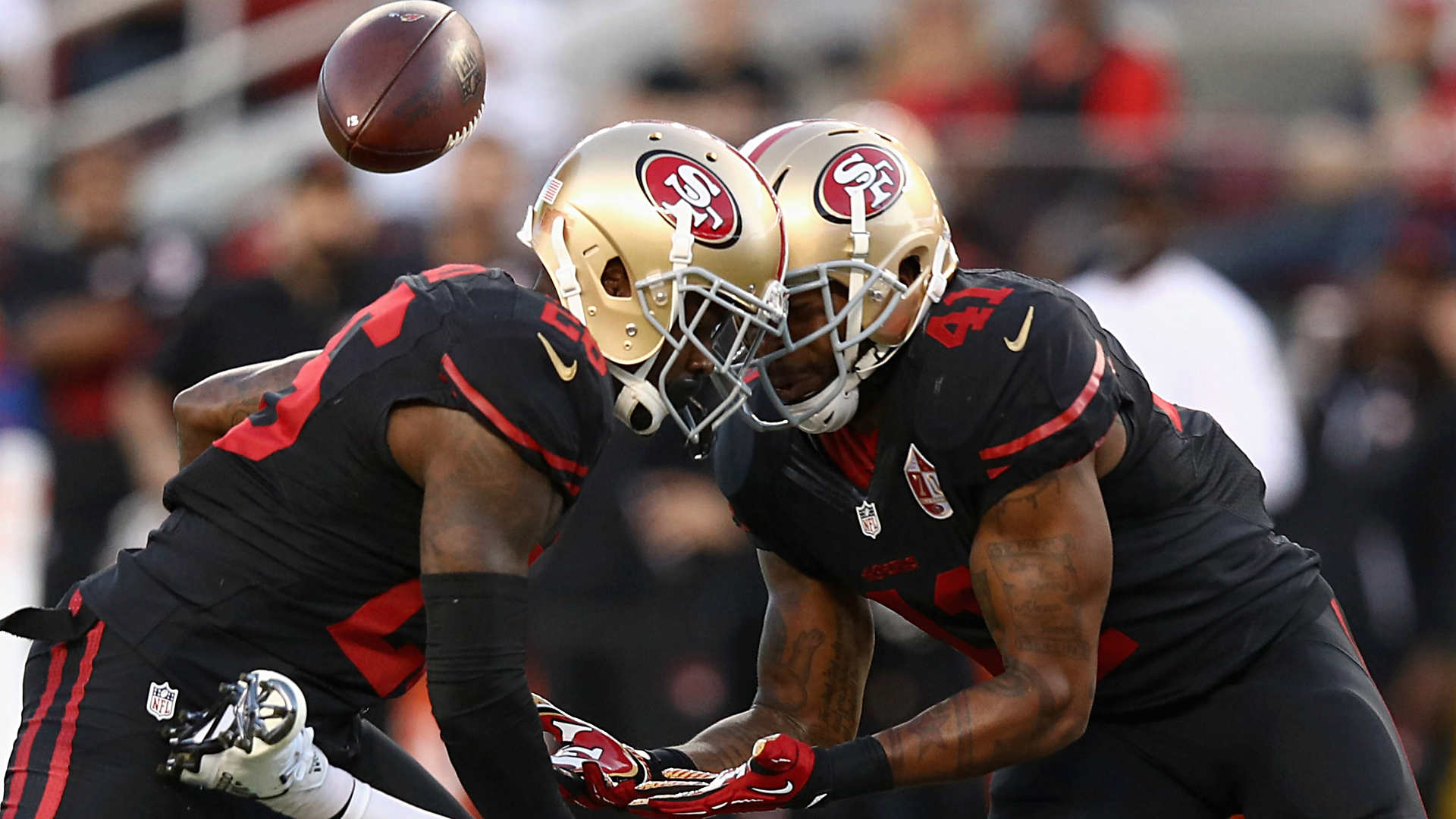 Image result for 49ers color rush