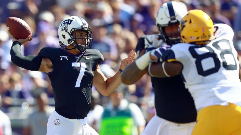 Image result for TCU Horned Frogs vs. West Virginia Mountaineers