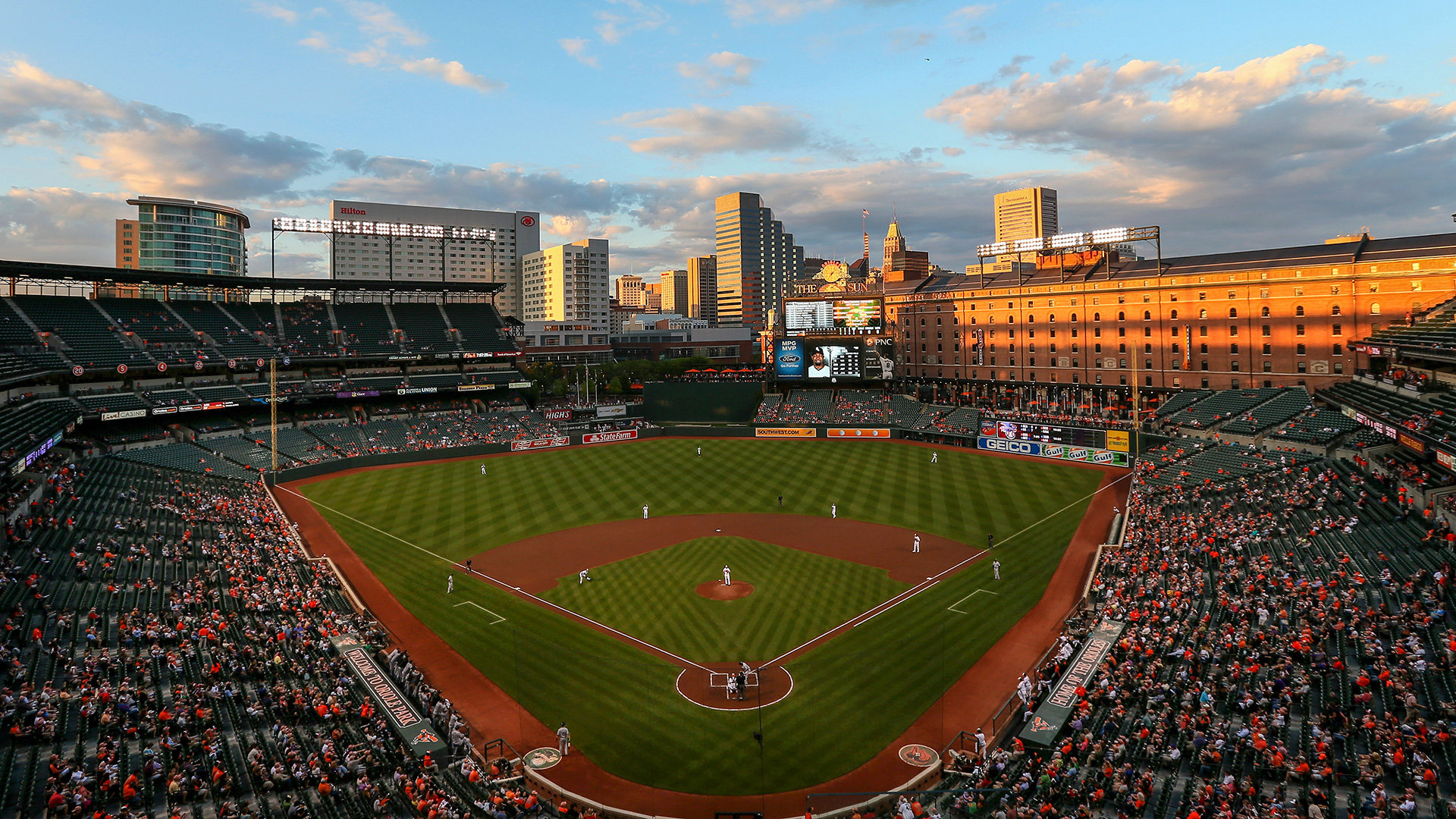 Image result for photos of Camden yards 2016