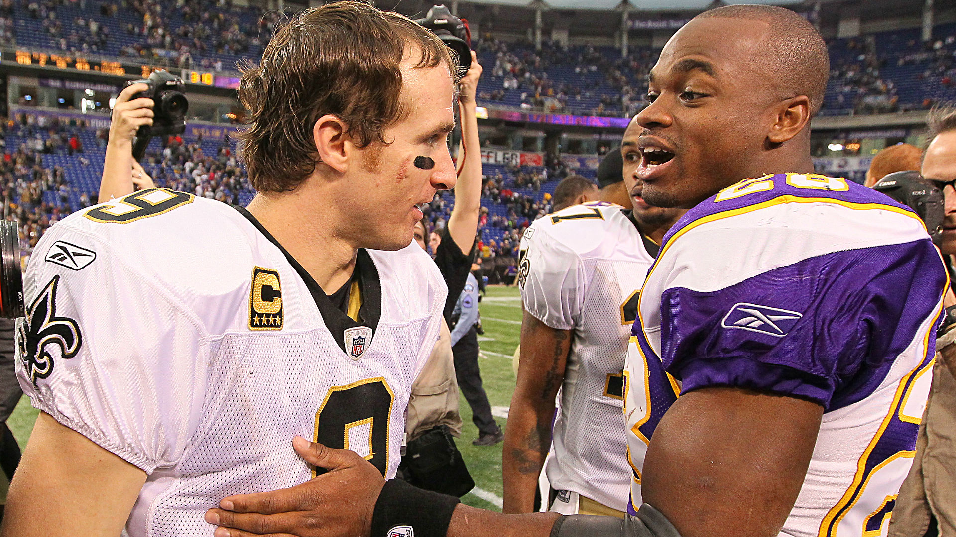 Image result for adrian Peterson saints