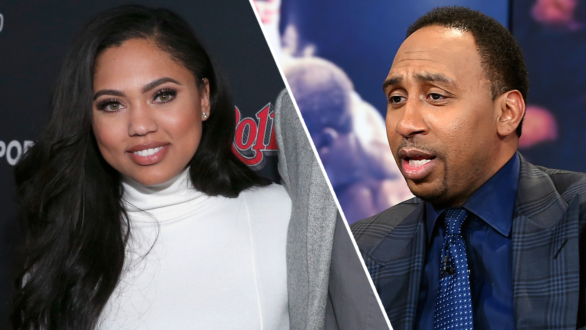 5bdbdd5d0bb2 Pump Your Breaks  Ayesha Curry Responds To Stephen A Smith Little Jab On   First Take .