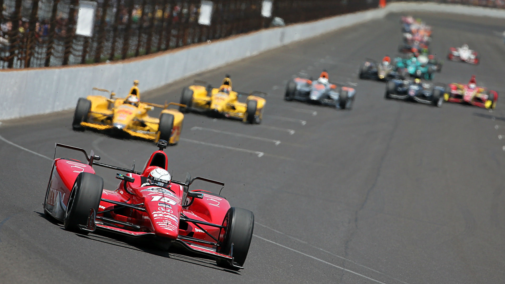 2013 Indy 500 Race Cars