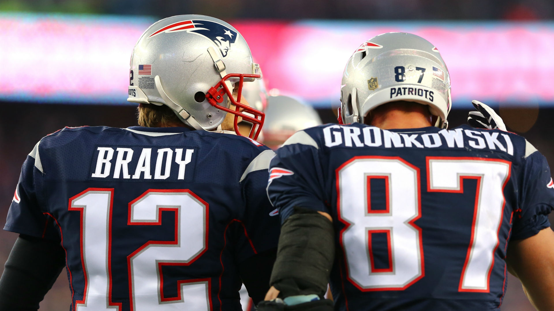 Image result for gronkowski brady