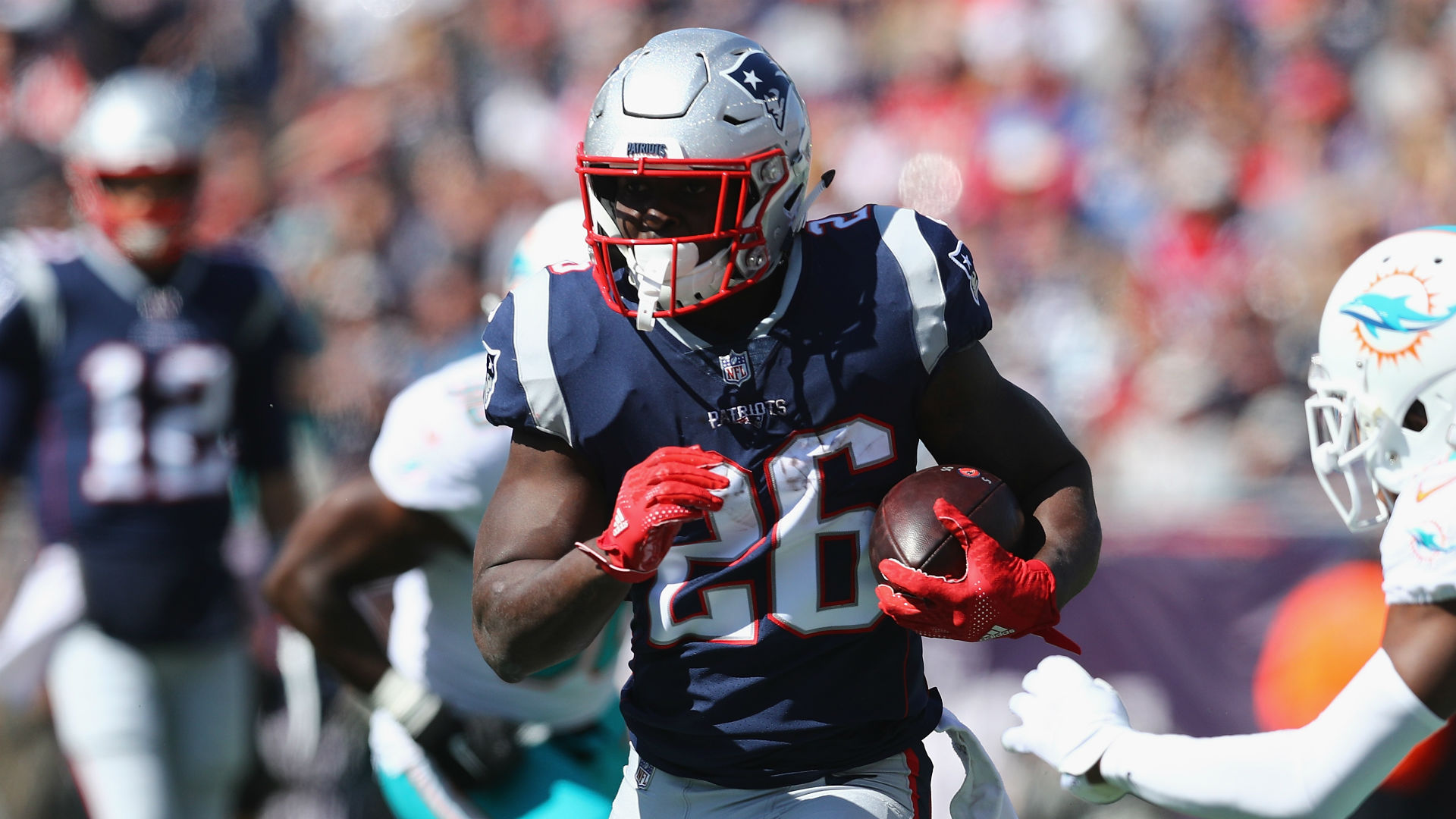 Image result for sony michel patriots