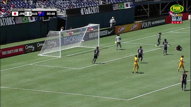 Kerr stars as Matildas down Japan