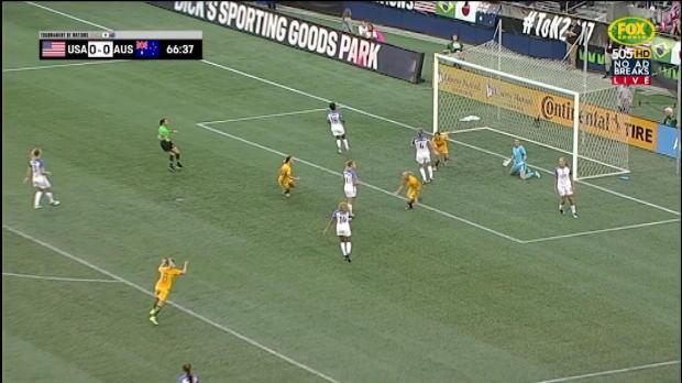 Matildas Tournament of Nations goals wrap
