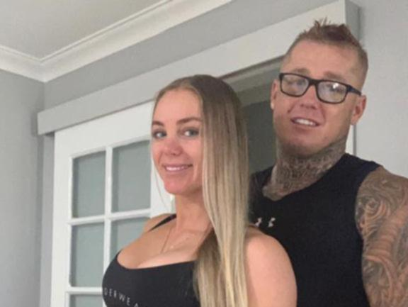 Ricky Chapman with Nick Martin's stepdaughter Stacey Schoppe.