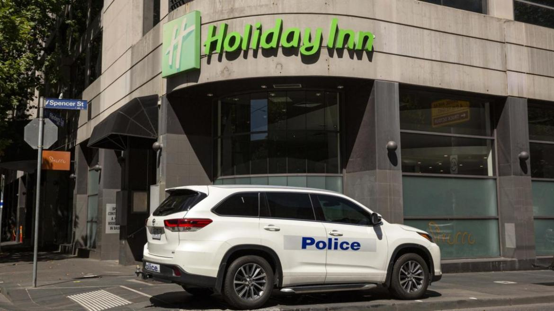 The Holiday Inn on Flinders Lane in Melbourne.