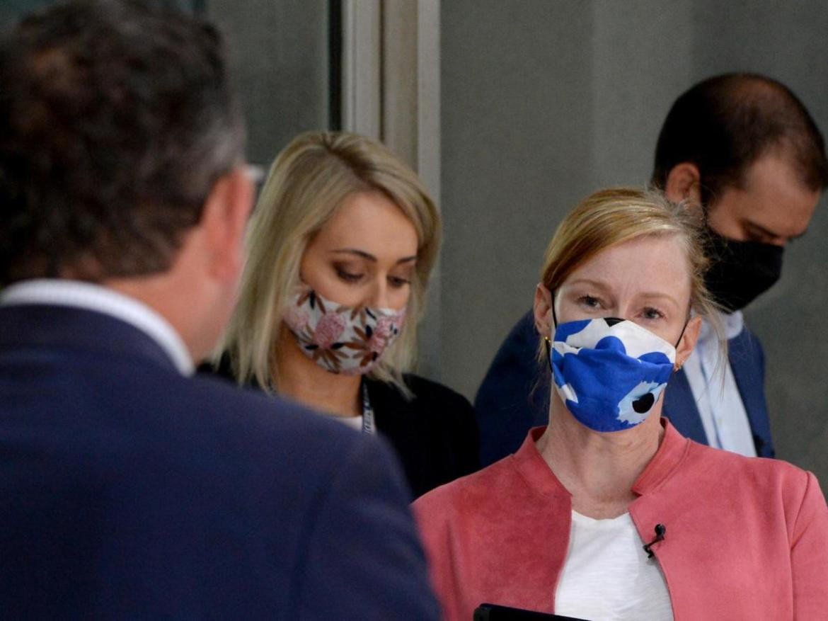 Leigh Sales asked the Premier about hotel quarantine.