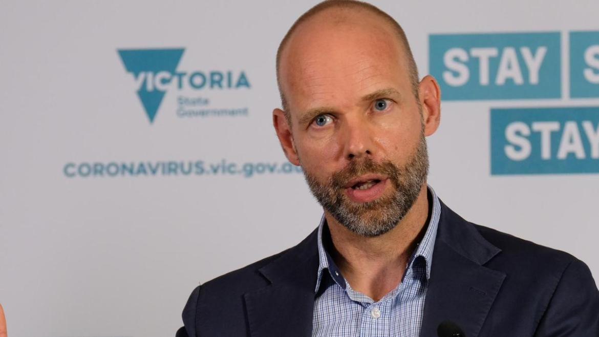 Victoria's COVID response commander Jeroen Weimar has revealed how the infection spread across Melbourne.
