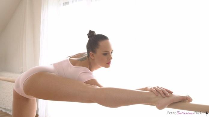 PetiteBallerinasFucked.com - Blue Angel: Flexible Dancer Swallows Cum - S4:E2
