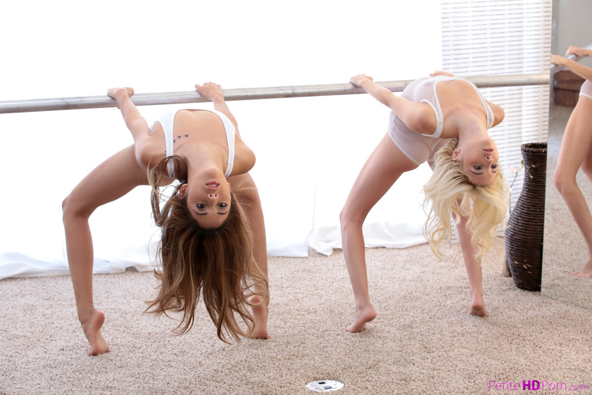 PetiteHDPorn.com - Kristina Bell,Piper Perri: Ballerina Beauties - S10:E3