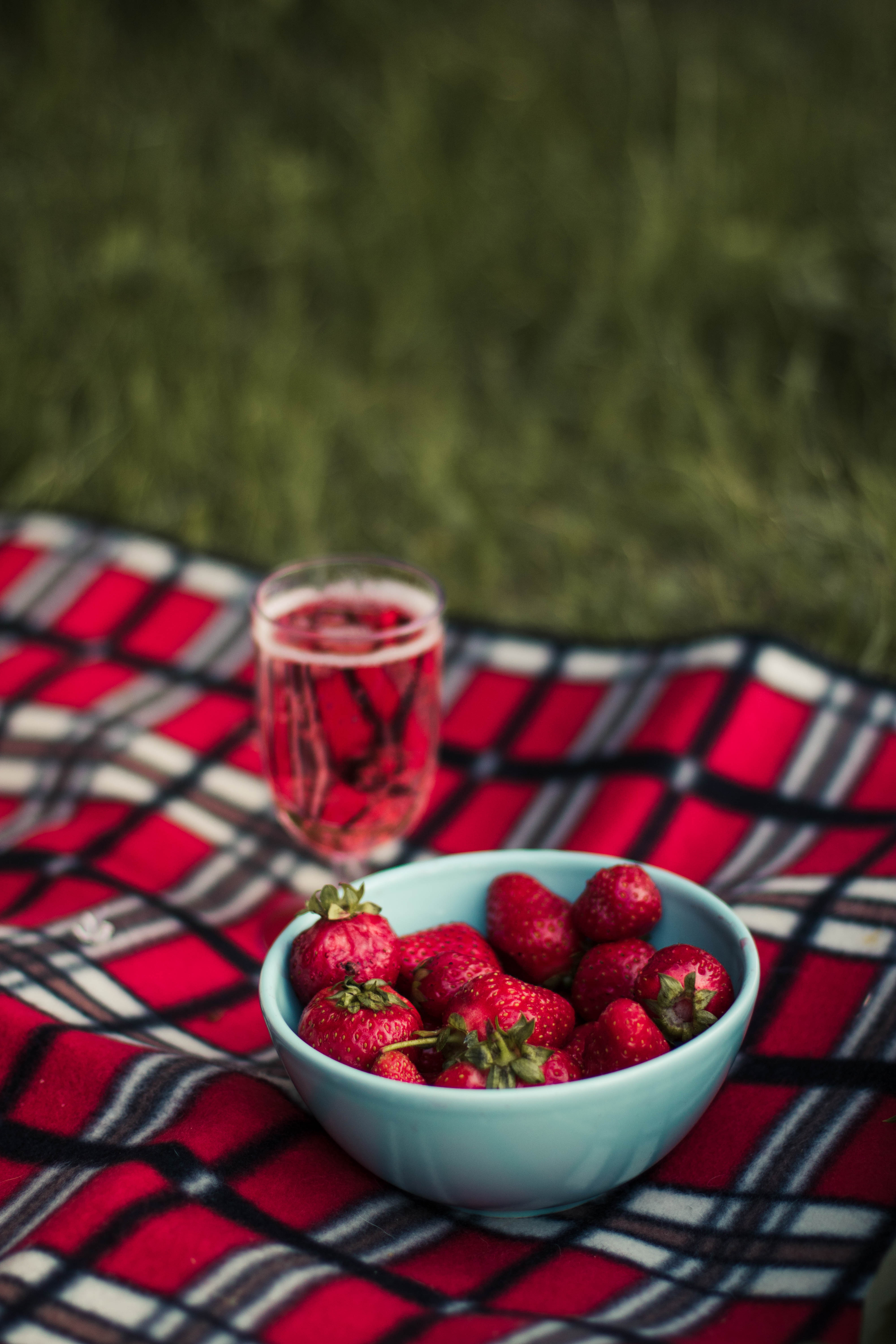 Red Cherry In Clear Glass Bowl 183 Free Stock Photo