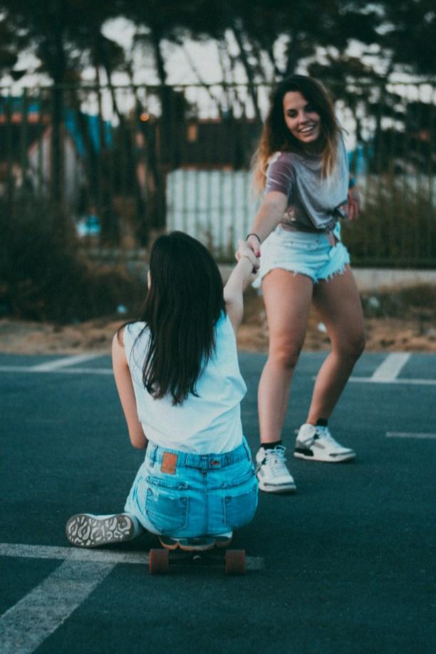 Photograph of Women Having Fun
