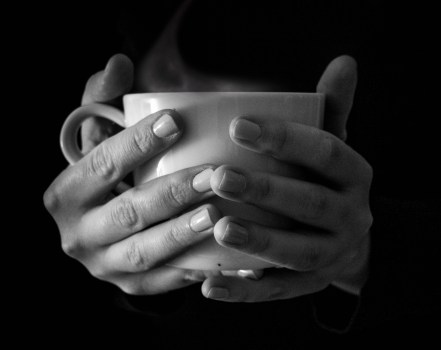beverage, black-and-white, coffee