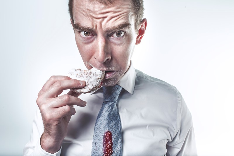 Free stock photo of food, man, person, eating