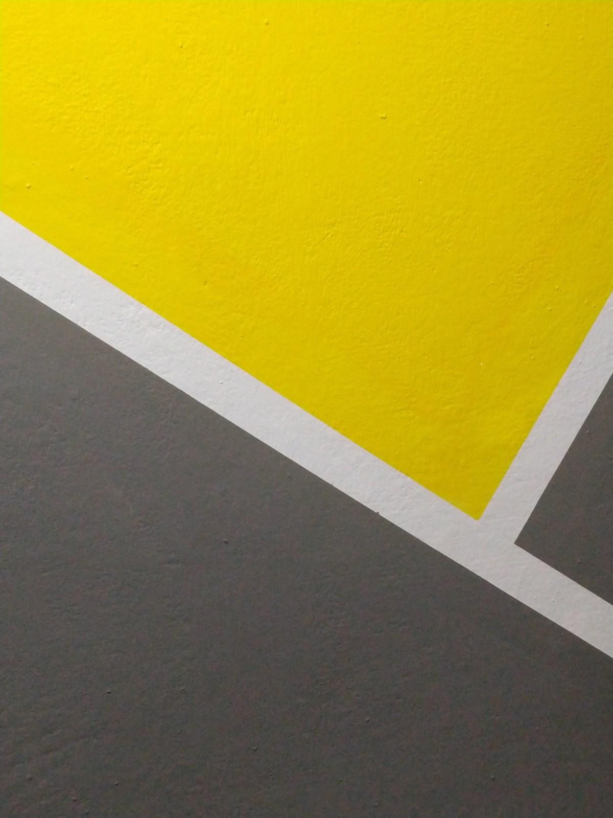 Yellow, White and Gray Background