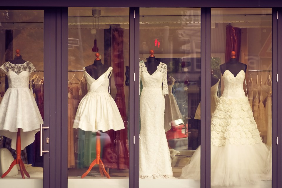 boutique, bridal, bridal fashion