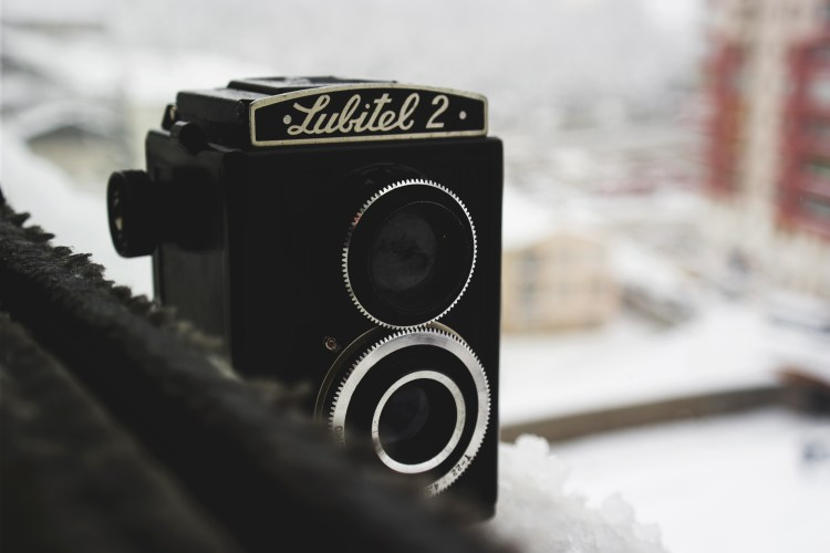 Free stock photo of city, camera, winter, vintage